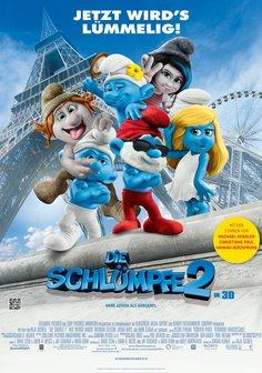 Plakat: DIE SCHLÜMPFE 2
