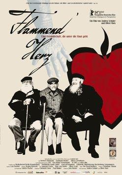 Flammend Herz Poster