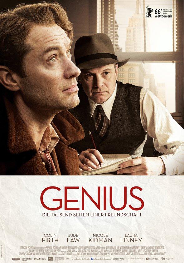 Genius - Die tausend Seiten einer Freundschaft Poster