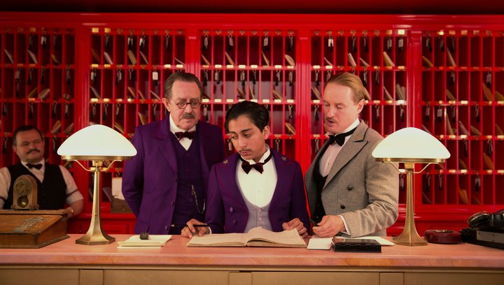 Grand Budapest Hotel (VoD-/BluRay-/DVD-Trailer) Poster