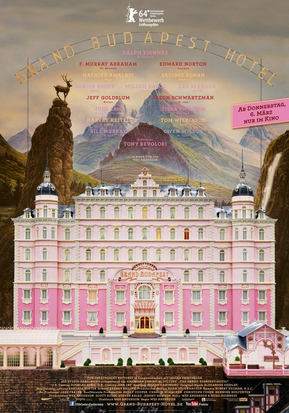 Grand Budapest Hotel Poster