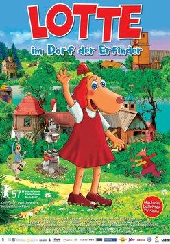Lotte im Dorf der Erfinder Poster