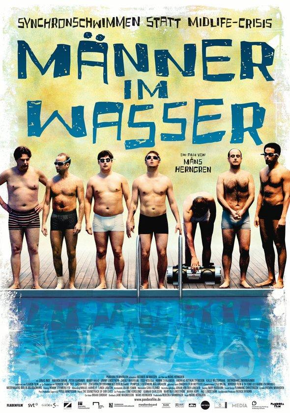 Männer im Wasser Poster