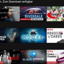 Netflix: Mit Download Serien & Filme offline sehen auch mit Windows 10!