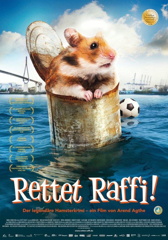 Rettet Raffi! Poster