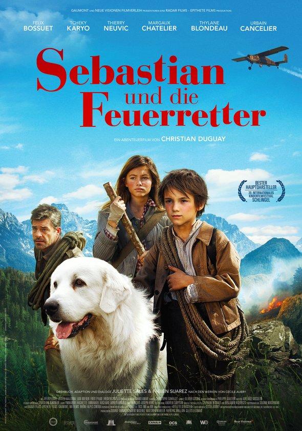 Sebastian und die Feuerretter Poster