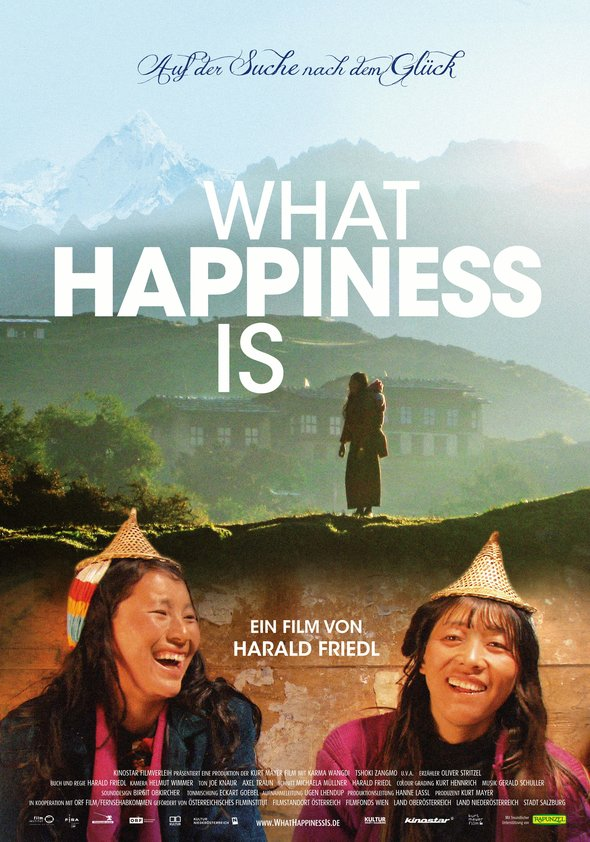What Happiness Is Poster