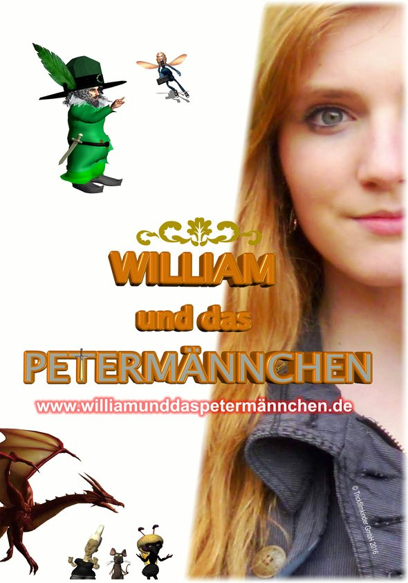 William und das Petermännchen Poster