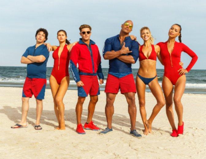 """Die """"Baywatch"""" Crew versammelt sich © Paramount Pictures"""