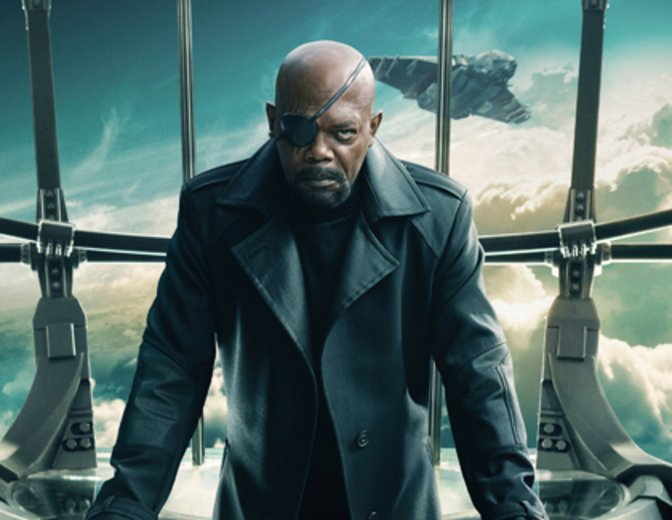 Nick Fury Samuel L. Jackson Marvel