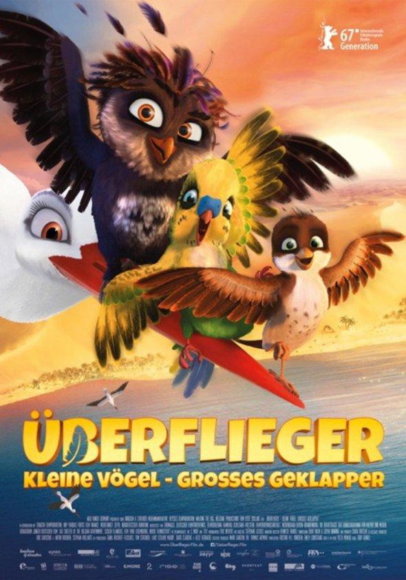 Plakat: ÜBERFLIEGER