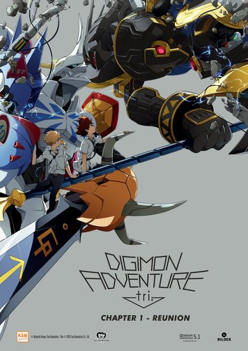 Digimon Adventure tri. Chapter 1 - Reunion Poster