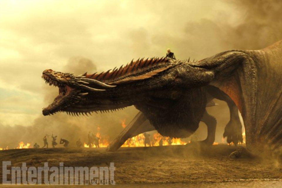 Die Drachen werden gigantisch! © Entertainment Weekly/HBO