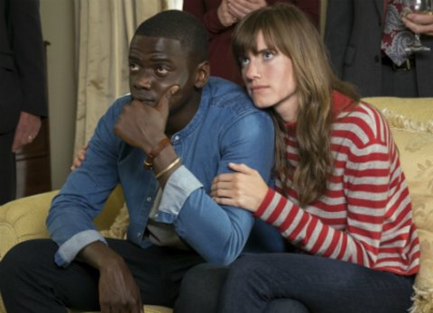 "Allison Williams und Daniel Kaluuya in ""Get Out"" © Universal"