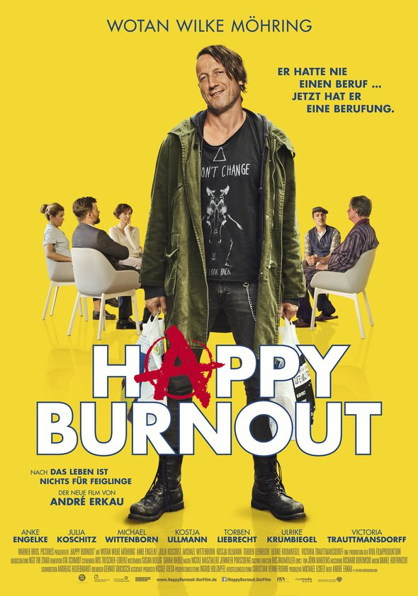 Plakat: Happy Burn Out