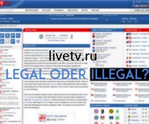 Livetv.ru: Champions League kostenlos im Live-Stream anschauen - ist das legal?