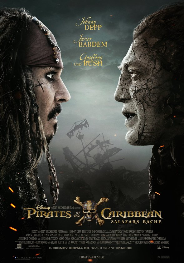 Plakat: PIRATES OF THE CARRIBEAN - SALAZARS RACHE