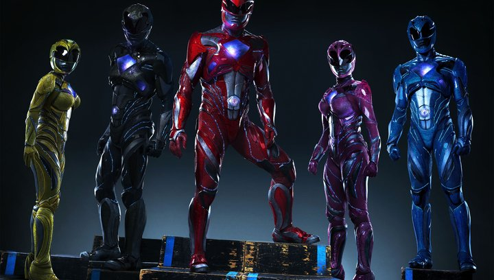 "Deutscher Trailer ""Power Rangers"" Poster"