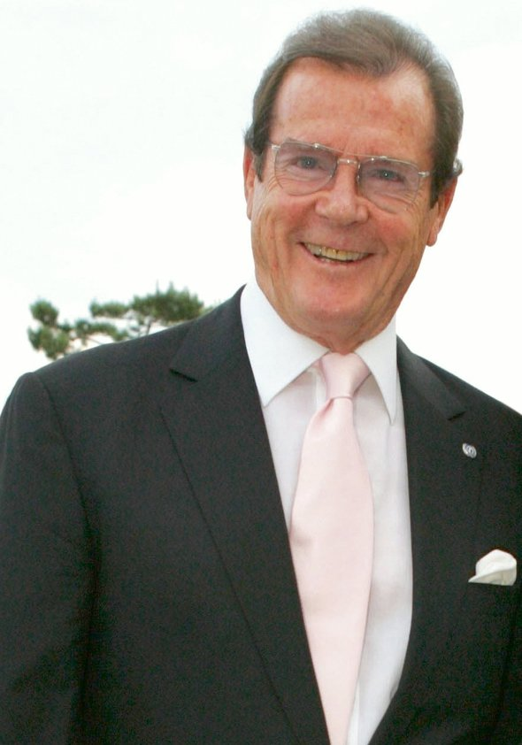 Sir Roger Moore Poster