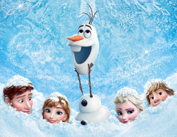 Frozen Die Eiskönigin Poster Olaf Trailer