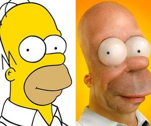 Homer, Micky Maus & Co.: So sehen beliebte Zeichentrick-Figuren in der Realität aus