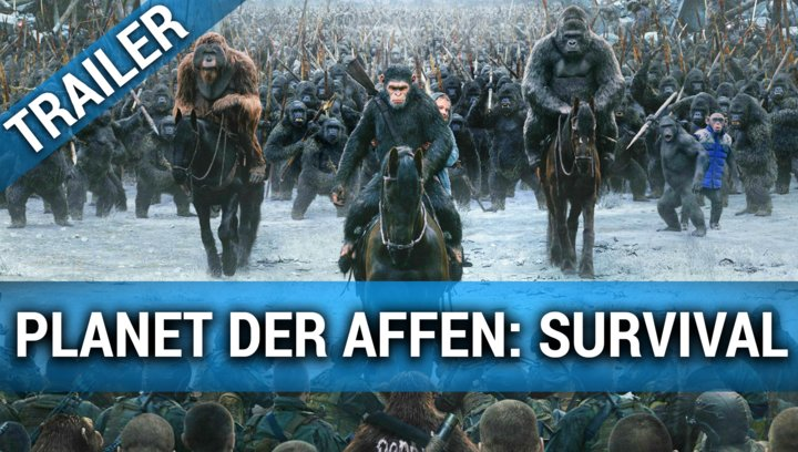 Planet der Affen - Survival - Trailer 4 Poster