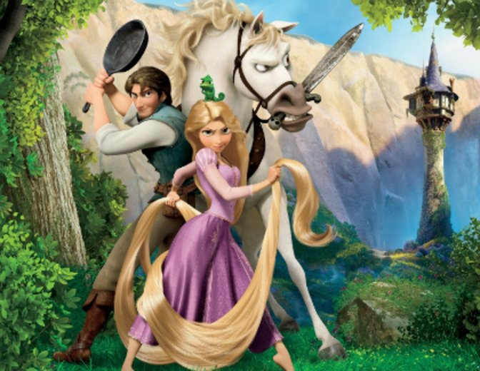Rapunzel Neu verfoehnt TV-Serie Disney Channel