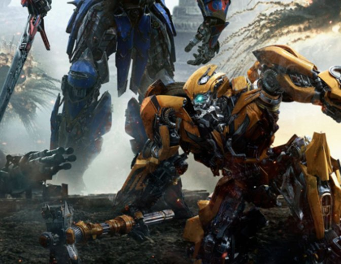 Transformers 5 The Last Knight Poster Bumblebee Optimus Prime