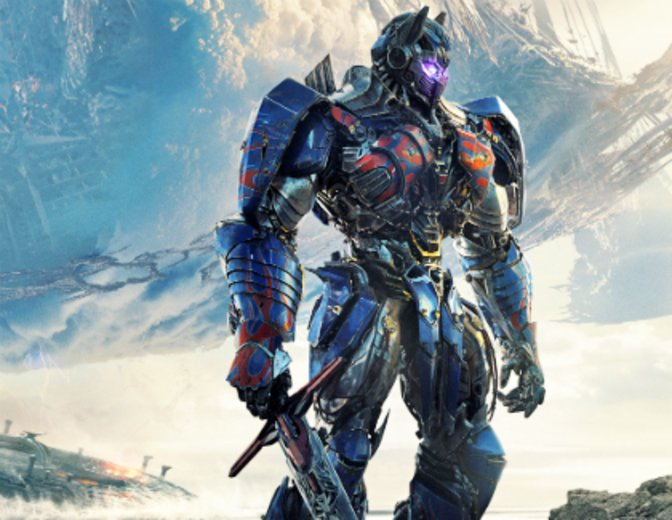Transformers 5 The Last Knight Poster Optimus Prime 2017