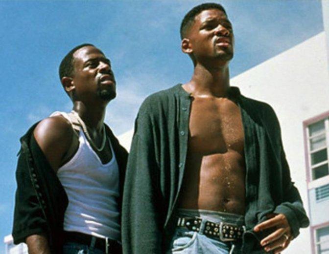 """So jung kamen sie nie wieder zusammen — Will Smith und Martin Lawrence in """"Bad Boys"""". © Columbia TriStar"""
