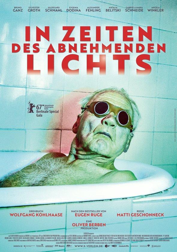 Plakat: IN ZEITEN DES ABNEHMENDEN LICHTS