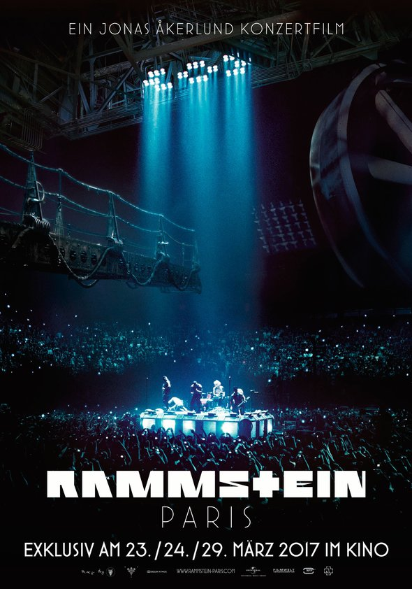 Rammstein: Paris Poster