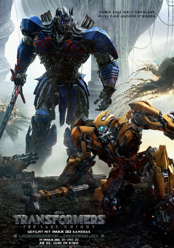 Plakat: TRANSFORMERS - The Last Knight