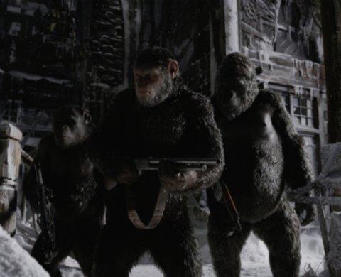 """Andy Serkis als Affe Caesar in """"Planet der Affen: Survival"""" © Twentieth Century Fox"""