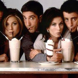 """The Big Bang Theory - """"Friends"""" und Co.: Diese Serien-Pärchen konnten sich in Wahrheit nicht ausstehen (#1) Poster"""