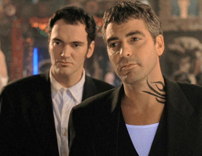 From Dusk Till Dawn George Clooney Quentin Tarantino