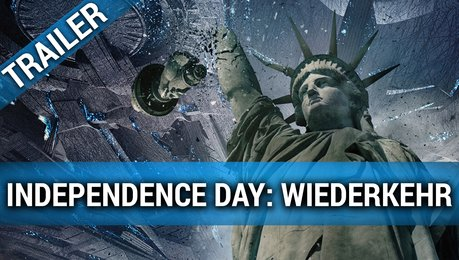 Independence Day: Wiederkehr - Trailer Poster