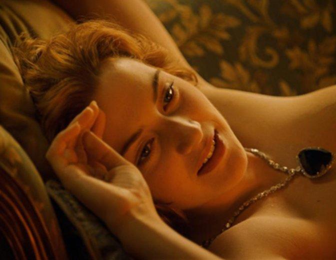 Kate Winslet Rose Titanic Akt