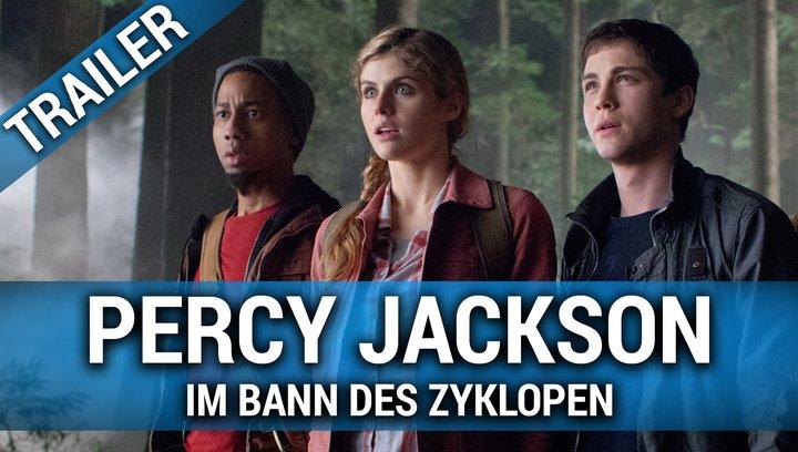Percy Jackson: Im Bann des Zyklopen - Trailer Poster