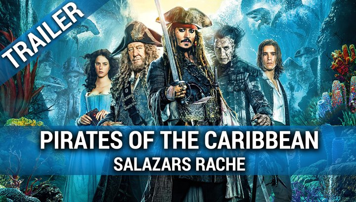 Pirates Of The Caribbean 5 Salazars Rache - Trailer Poster