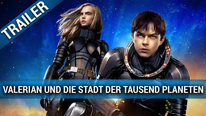 Valerian - Die Stadt der tausend Planeten - Teaser Poster