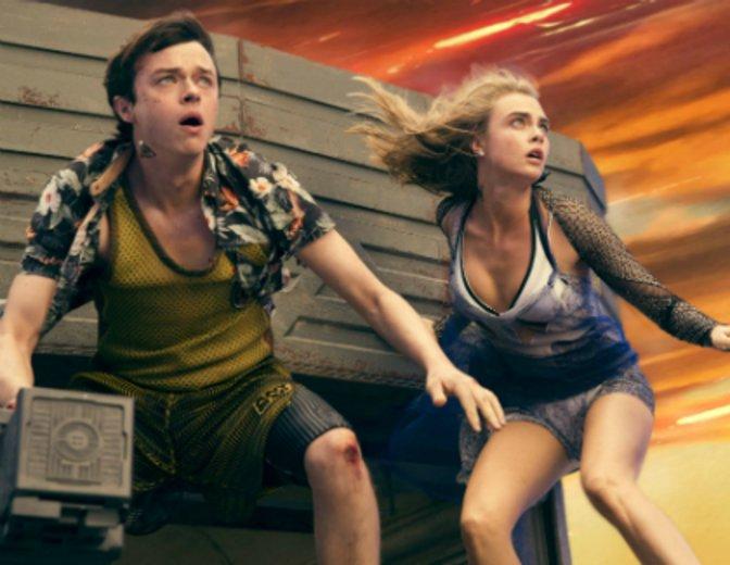"""Dane DeHaan und Cara Delevingne in dem Science Fiction Spektakel """"Valerian   Die Stadt der tausend Planeten"""" von Luc Besson © Universal/Walt Disney"""