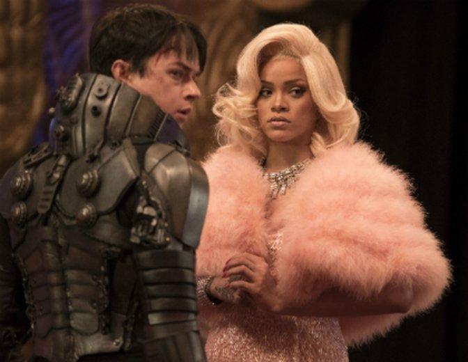 """Rihanna und Dane De Haan in """"Valerian   Die Stadt der tausend Planeten"""" © Universal/Walt Disney"""