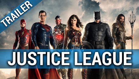 The Justice League - Official Heroes Trailer Poster