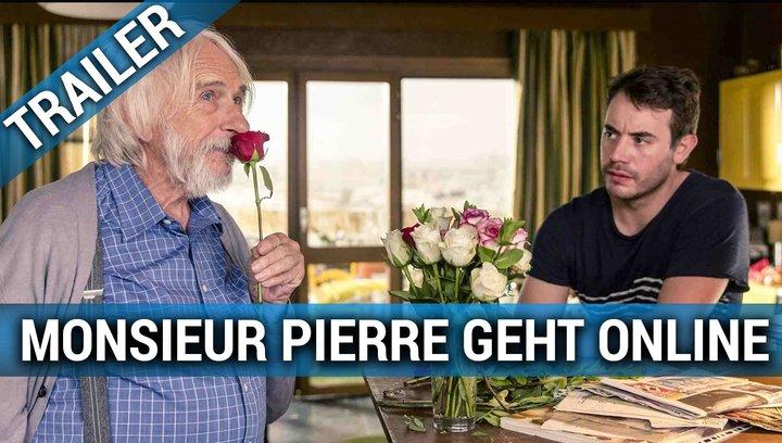 Monsieur Pierre geht online - Trailer Poster