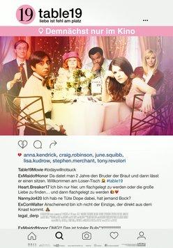Table 19 - Liebe ist fehl am Platz Poster