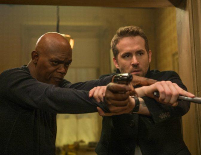 "Samuel L. Jackson und Ryan Reynolds in ""Killer's Bodyguard"" © 20th Century Fox"