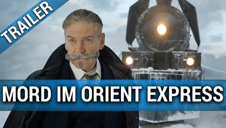Mord im Orient Express - Trailer Poster