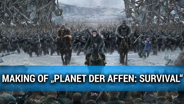 Planet der Affen Survival - Making Of (Mini) Poster