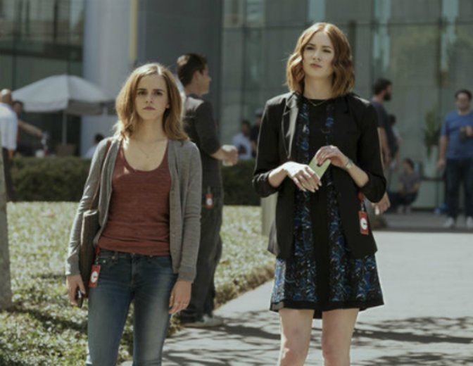 "Emma Watson und Karen Gillan in dem Techno-Thriller ""The Circle"""